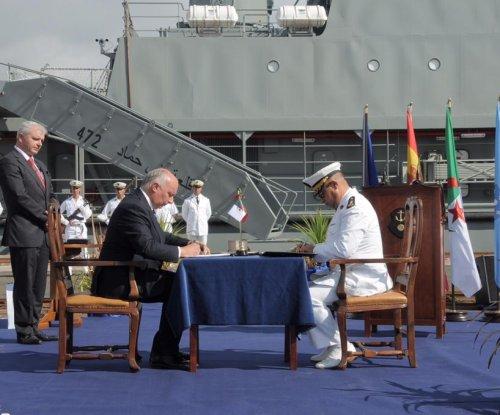 Second Algerian Navy logistics ship modernized