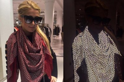 Designer creates photo-proof scarf