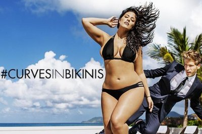 Ashley Graham stars in Sports Illustrated swimsuit ad