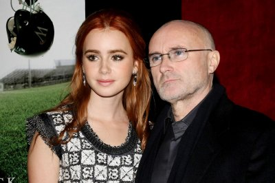 Lily Collins forgives dad Phil Collins in first book