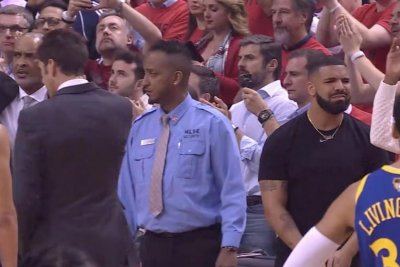 NBA Finals: Drake distraught after Kevin Durant injury