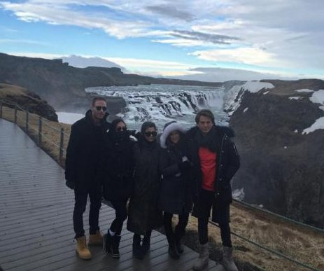 Kourtney Kardashian celebrates 37th birthday in Iceland