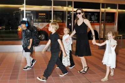 Brad Pitt, Angelina Jolie celebrate their twins' 8th birthday
