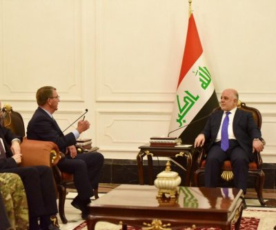 U.S. Defense Secretary Ashton Carter in Baghdad in unannounced visit