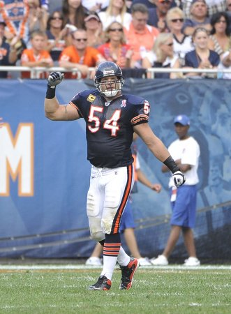 Bears to be at Urlacher's mother's service