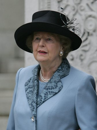 'Iron Lady' Margaret Thatcher dead at 87