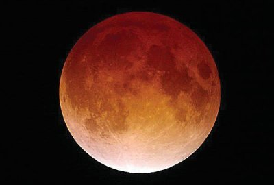 Next week's lunar eclipse may feature the color turquoise