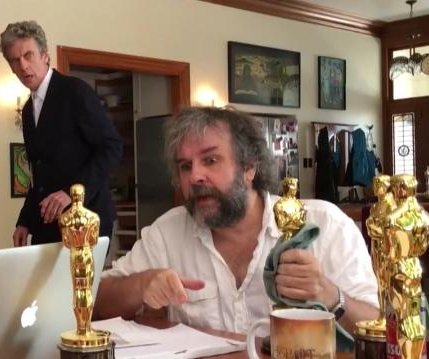 Peter Jackson teases directing 'Doctor Who' in new video
