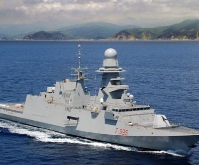 Sea trials begin for new Italian frigate