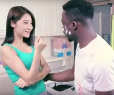 Chinese company apologizes for racist ad