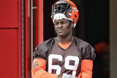 Undrafted Desmond Harrison named to replace Cleveland Browns' Joe Thomas