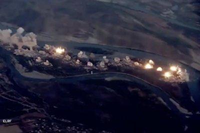 U.S. airstrikes target Islamic State hideout on Iraqi island