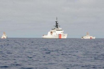 U.S. Coast Guard cutters arrive in Spain after Atlantic crossing