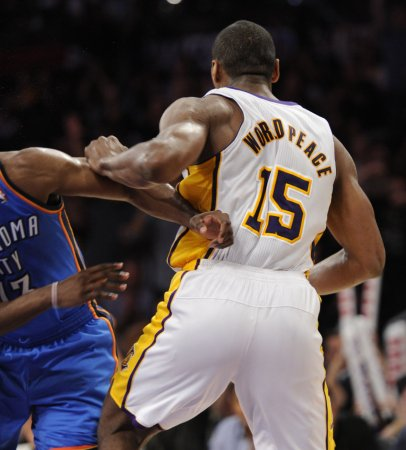 NBA suspends World Peace for 7 games