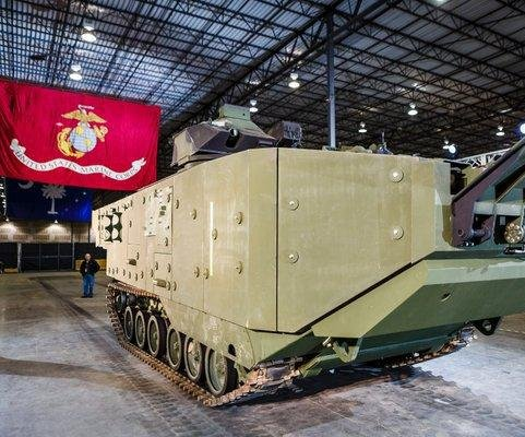 Marines receive upgraded Assault Amphibious Vehicle