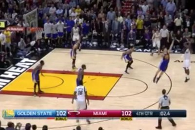 WATCH: Dion Waiters, Miami Heat stun Golden State Warriors with buzz beater