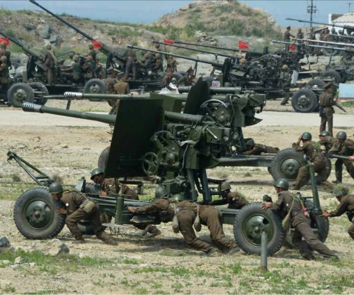 Report: North Korea built new military base for anti-aircraft guns