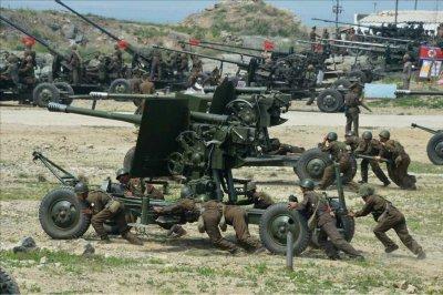 Report: North Korea built new military base for anti-aircraft guns