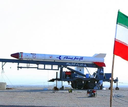 U.S. sanctions Iran for satellite-capable rocket