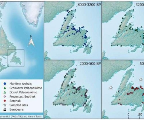 DNA proves Newfoundland was populated by distinct groups three different times