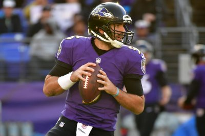 Flacco isn't worried about Ravens drafting QB