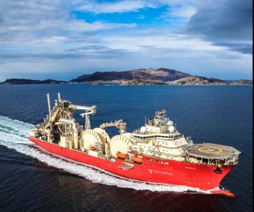 Pipelay vessel arrives for oil basins offshore Brazil
