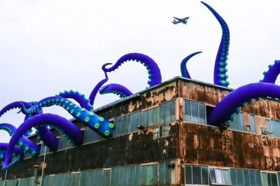 Look:-Art-installation-brings-giant-sea-monster-to-Philadelphia