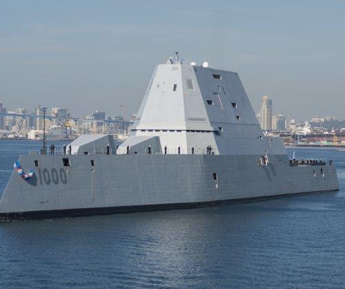 BIW, Raytheon receive $43M for Zumwalt support, weapons