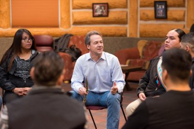 Montana Gov. Steve Bullock, running for president, says he can win in Trump country