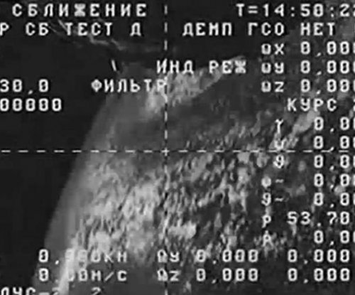 Russian space capsule spinning out of control