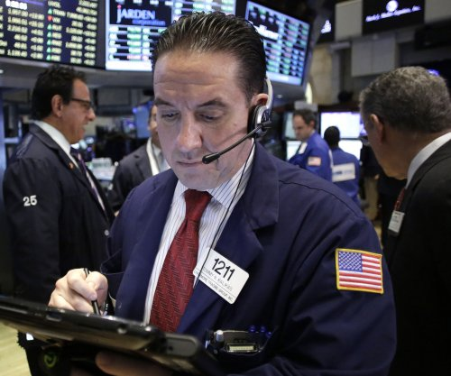 Stocks surge again as health care shares show growth; Dow rises 122 points