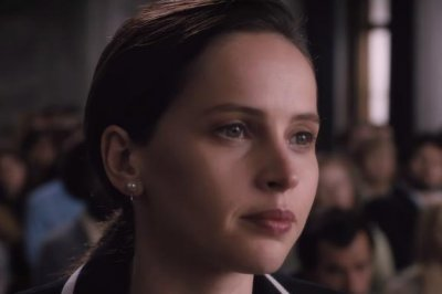 Felicity Jones is Ruth Bader Ginsburg in 'On the Basis of Sex' trailer