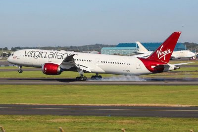 Virgin flight hits record 801 mph due to powerful jet stream