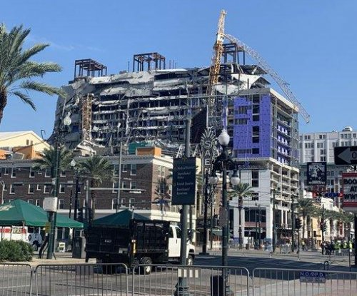 Officials: Controlled explosion at collapsed New Orleans hotel brings crews closer to retrieving two bodies