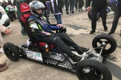 Man tops 66 mph in electric wheelchair for Guinness record