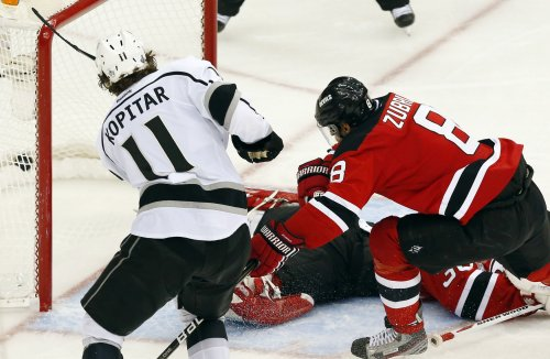 NHL: Los Angeles 2, New Jersey 1 (OT)