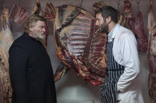 Brendan Gleeson shares screen with son Domhnall in 'Calvary'
