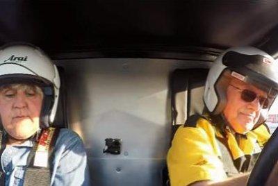 Jay Leno unharmed after crashing in 'Bucket List' car