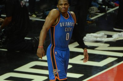Oklahoma City Thunder's Russell Westbrook won't play Tuesday against Minnesota Timberwolves