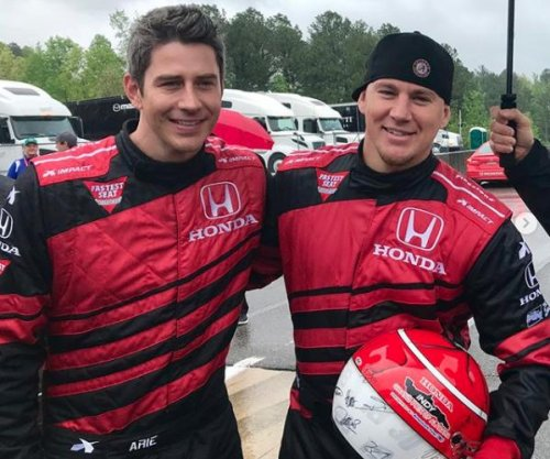 Channing Tatum hangs out with Arie Luyendyk Jr. after split
