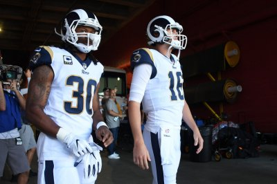 Los Angeles Rams camp: Three goals and top battle