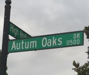 Watch: North Carolina city replacing street sign that misspelled 'Autumn'