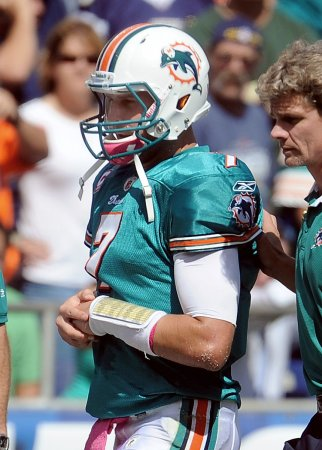 Dolphins lose QB for the season