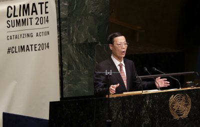 China promises action on climate change