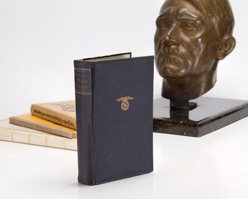 Hitler's copy of 'Mein Kampf' up for auction