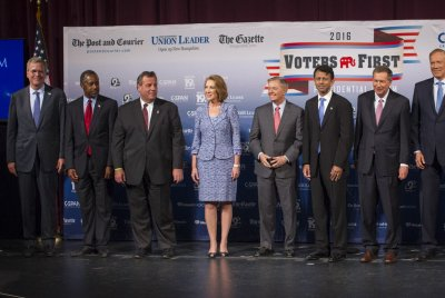Perry, once top GOP contender, edged out of Fox News debate