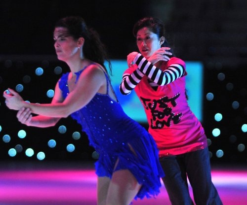 Kristi Yamaguchi to Nancy Kerrigan: 'break a leg'