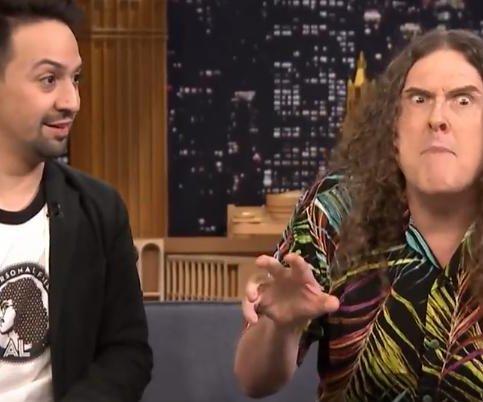 Weird Al, Lin-Manuel Miranda lip sync 'Hamilton Polka' on 'Tonight Show'