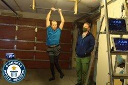 Norwegian man dead hangs for 16 minutes to break world record