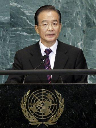 Premier Wen pledges support for Europe